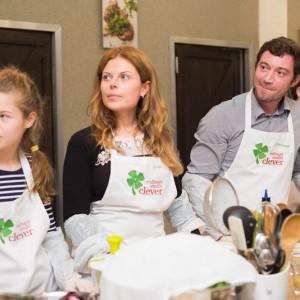 Участники кулинарного мастер-класса