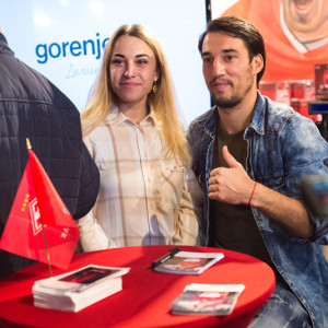 Ивелин Попов с болельщиком