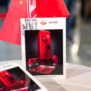 Карточки для автографов брендированные продукцией Gorenje