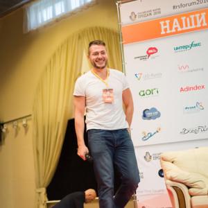 Руслан Татунашвили выходит на сцену