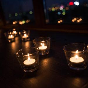 Свечи в темноте