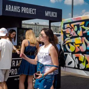 стенд компании ARAHIS PROJECT на фестивале Faces&Laces