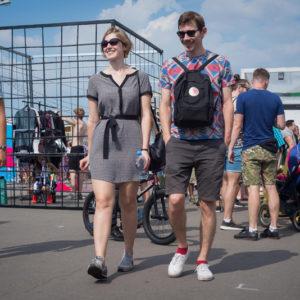 посетители фестиваля Faces&Laces