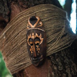 индонезийская маска из дерева
