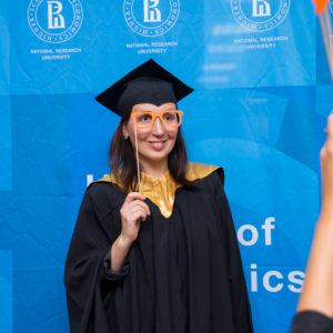 выпускница вшэ