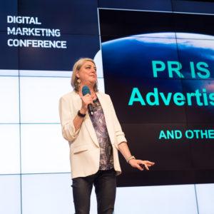 Kerrie Finch (Founder, FinchFactor) на Digital Marketing Conference 2016