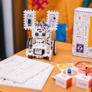 Робоняша от интернет-магазина хобби-электроники Амперка