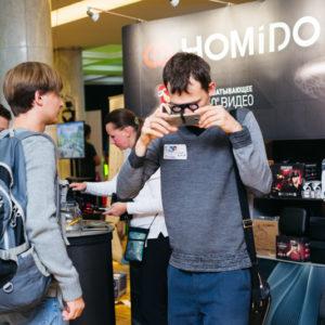 HOMiDO VR очки на фестивале MIXAR2016