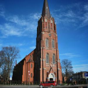 Лютеранская церковь Святой Анны, Лиепая, Латвия, Европа.