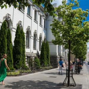 Проспект Гедимина - центральная улица Вильнюса
